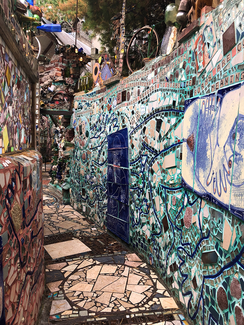 Magic Gardens of Philadelphia (photo by S. Blahut)
