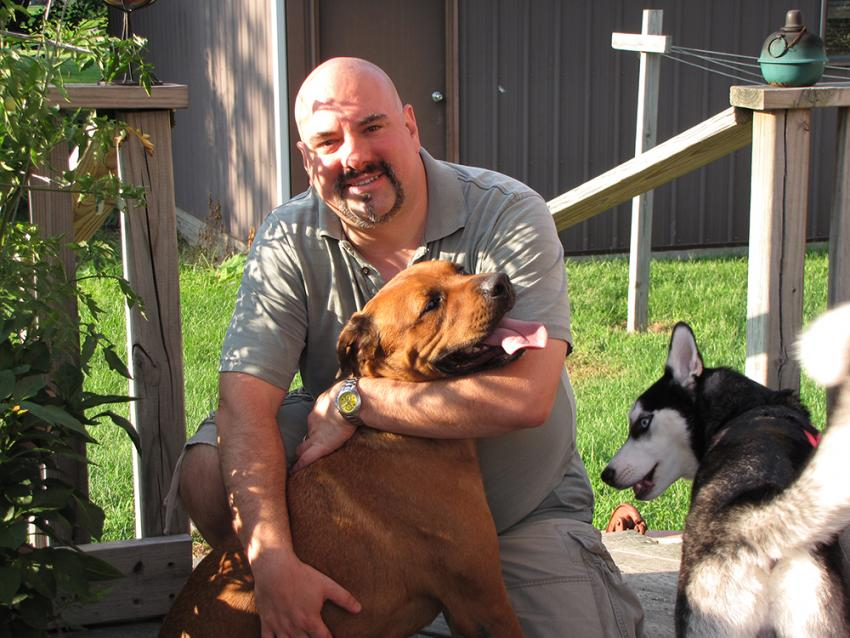 Veterinarian, blogger and advocate, Dr. Tony Johnson