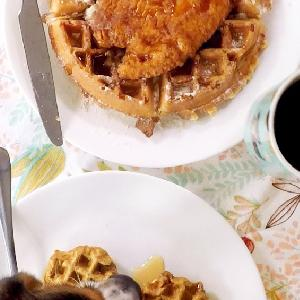 Scarf'd: Mother Cluckin' Good Chicken And Waffles For Pets